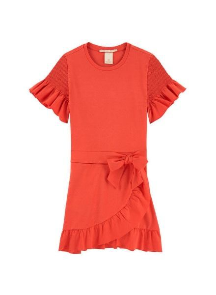 Scotch Rebelle Jurk Smocked Sleeves 149656