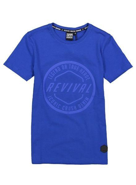 Crush Denim T-shirt Hanson 11911514 blauw