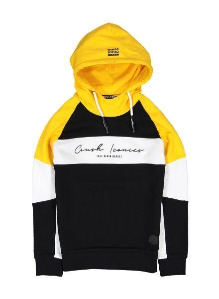 Crush Denim Sweater Salvator 11911103