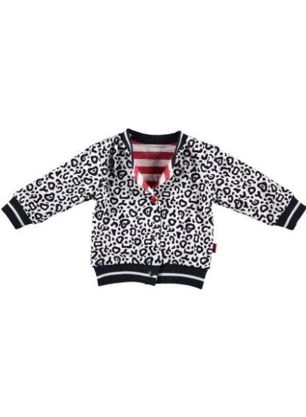 b.e.s.s. Vest Leopard AOP Reversible 1927-016