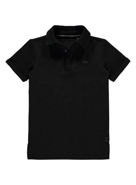 Polo T-shirt Bas zwart