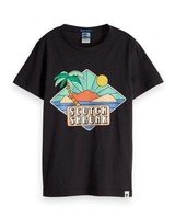 Scotch Shrunk T-shirt Colourful Artworks 149373