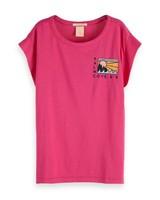 Scotch Rebelle T-shirt Boxy Fit 149542