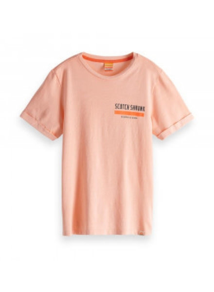 Scotch Shrunk T-shirt Magic 150437 oranje