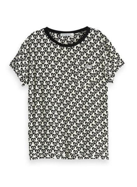 Scotch Rebelle T-shirt Boxy fit 147684 21