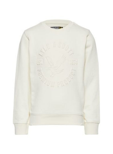 Lyle en Scott Heatseal sweater LSC0704-009 Snow White