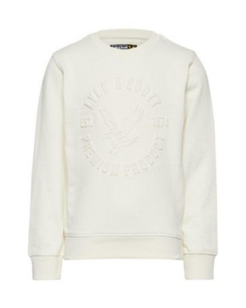 Lyle en Scott Heatseal sweater LSC0704-009 Snow White