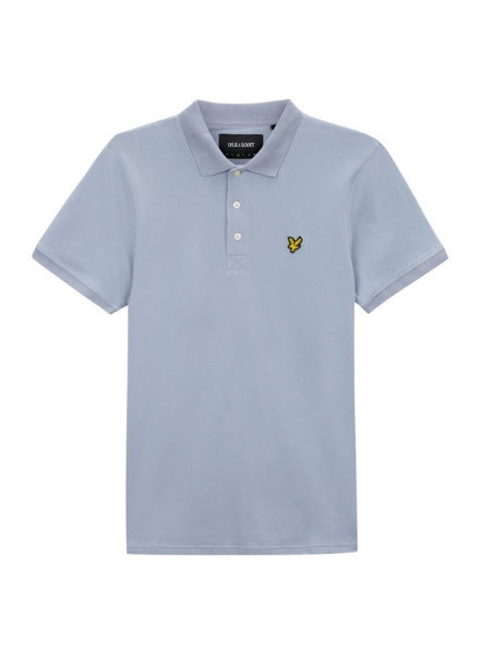 Lyle en Scott Polo LSC0145S-498 Cloud Blue