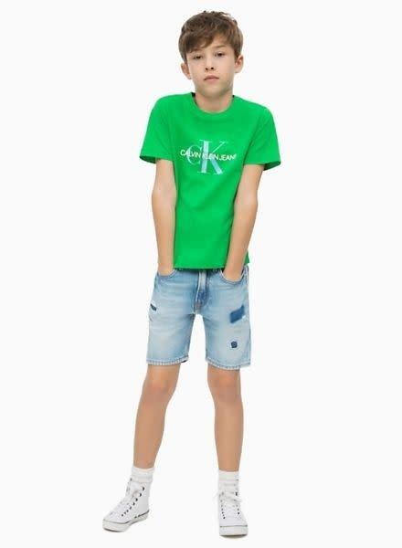 Calvin Klein T-Shirt Monogram Logo IB0IB000136300