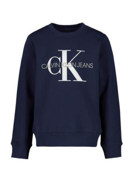 Calvin Klein Sweater monogram logo IU0IU00069CIK