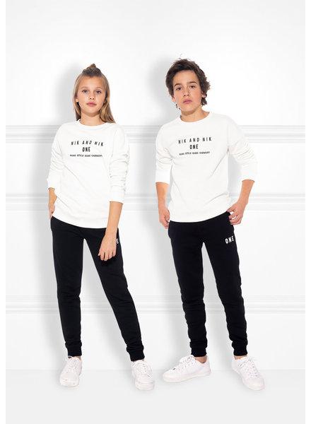 Nik & Nik Sweater One O 8-300 1905 Wit 128