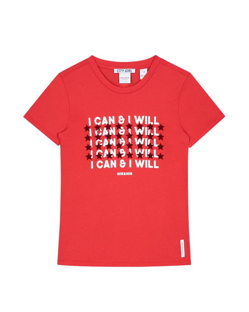 Nik & Nik Nik & Nik T-Shirt Can and Will