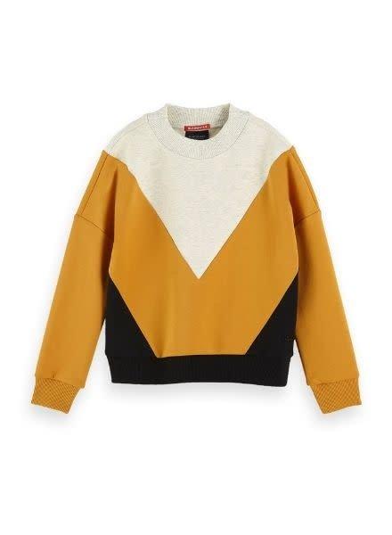 Scotch Rebelle Sweater Colourblock 152423