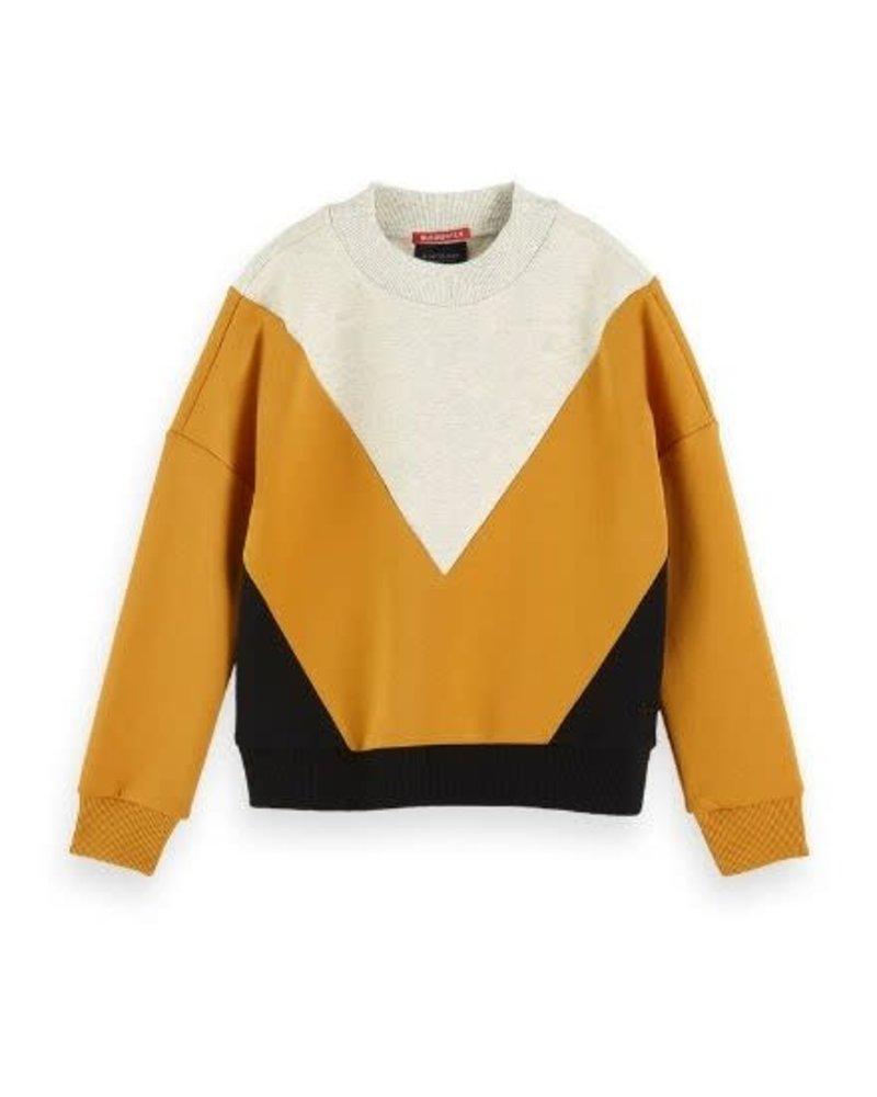ccf64498105 Sweater Colourblock 152423 - Dwarz - kinderkleding