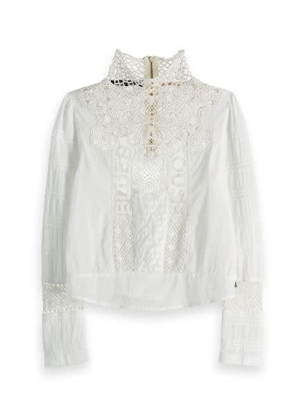 Scotch Rebelle Woven Top Lace 152415
