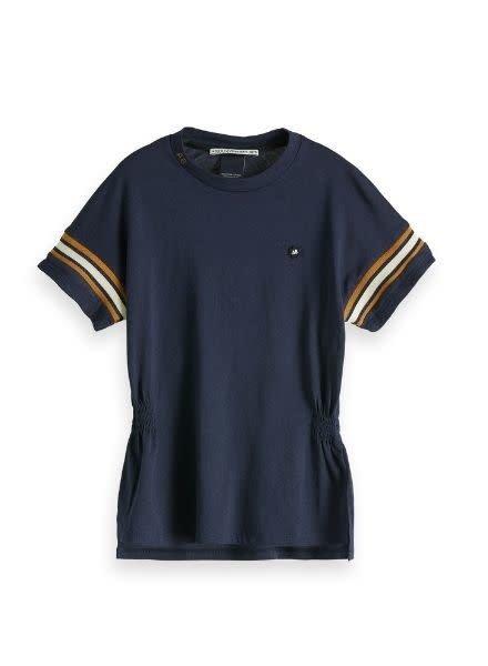 Scotch Rebelle T-Shirt Sporty Rib 150897