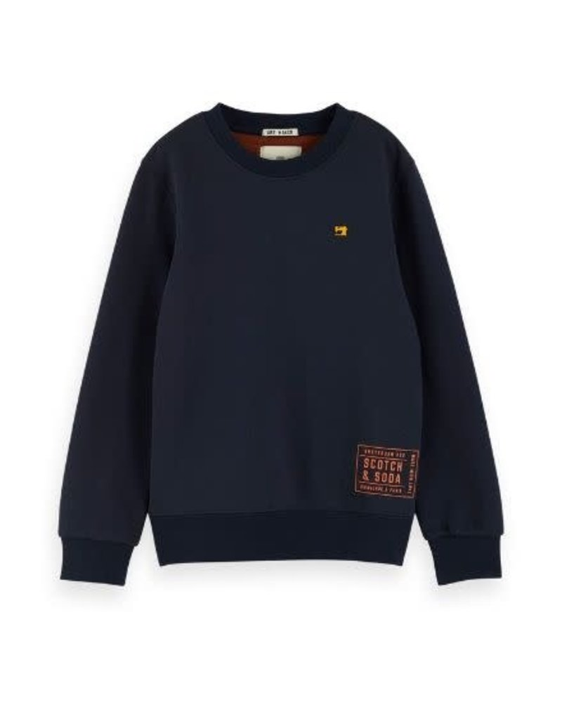 Scotch Shrunk Sweater basic two tone 151412 002