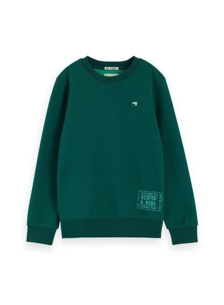 Scotch Shrunk Sweater basic two tone 151412 118