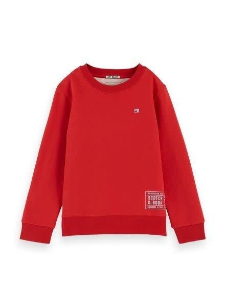 Scotch Shrunk Sweater basic two tone 151412 2435