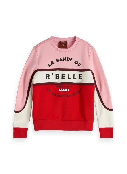 Scotch Rebelle Sweater Crew Neck 151677