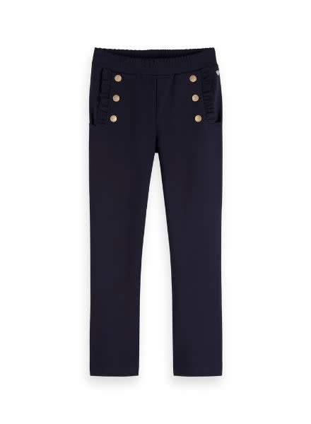 Scotch Rebelle Broek sailor ruflle detail 153281