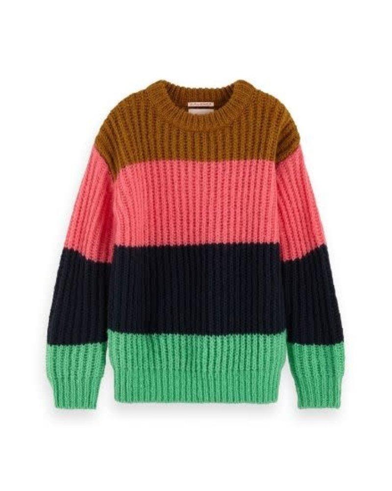 Scotch Rebelle Trui chunky knit 151790
