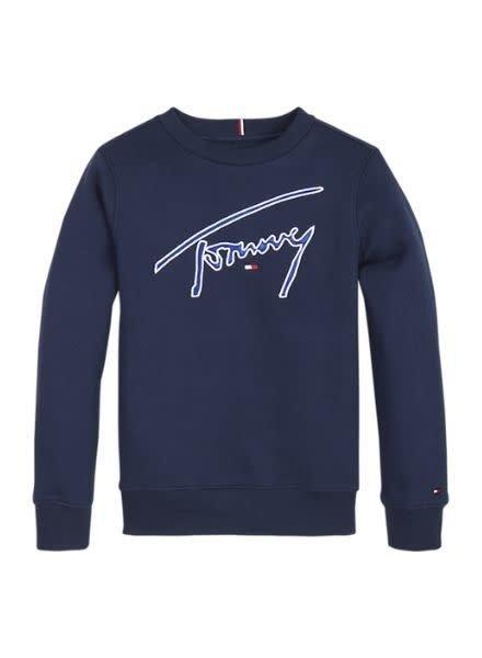 Tommy Hilfiger Sweater Ess.Signature KB0KB070CBK