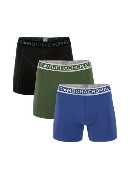 Muchachomalo Short 3-PACK 1010JSOLID277