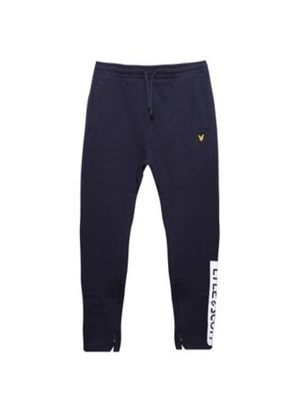 Lyle en Scott Joggingbroek Zip Hem Logo LSC00726