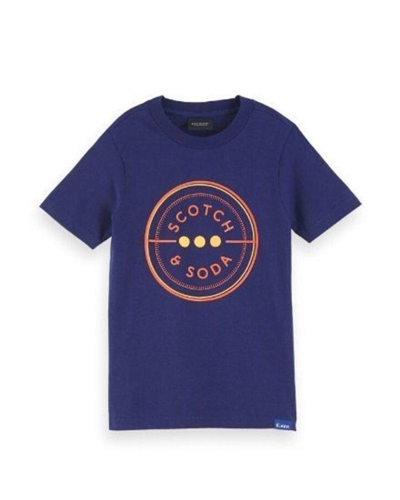 Scotch Shrunk T-shirt 153946-20-SSBD-D51 004