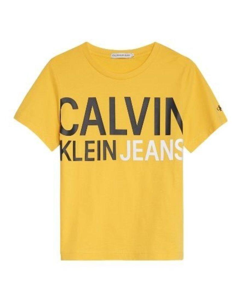 Calvin Klein T-shirt Stamp Logo IB0IB00348ZFM