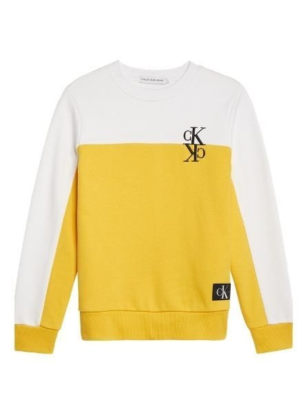 Calvin Klein Sweater IB0IB0038ZFM Colour Block
