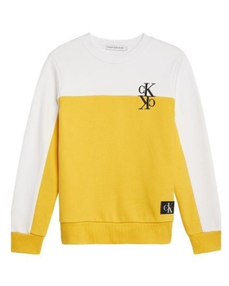Calvin Klein Sweater IB0IB0038ZFM Colour Block