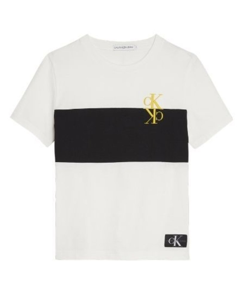 Calvin Klein T-shirt IB0IB00386YAF Colourblock