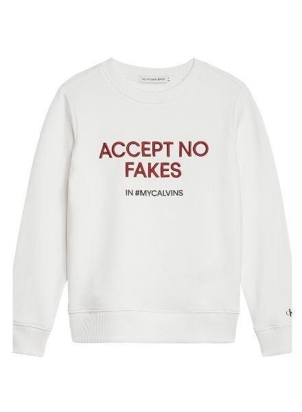 Calvin Klein Sweater Slogan IG0IG00430YAF