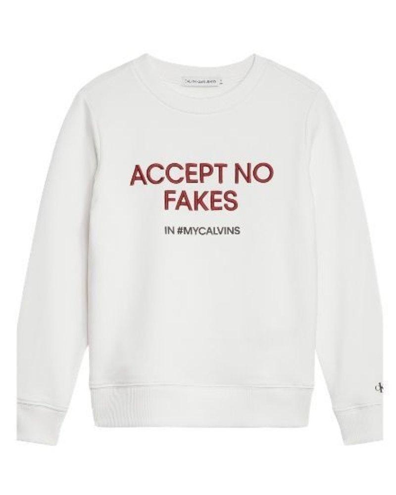 Calvin Klein Calvin Klein Sweater Slogan