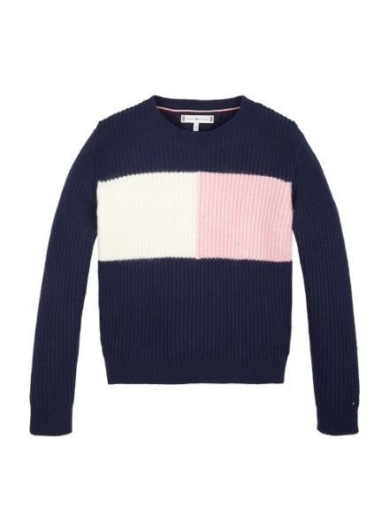 Tommy Hilfiger Sweater Essential colourblock