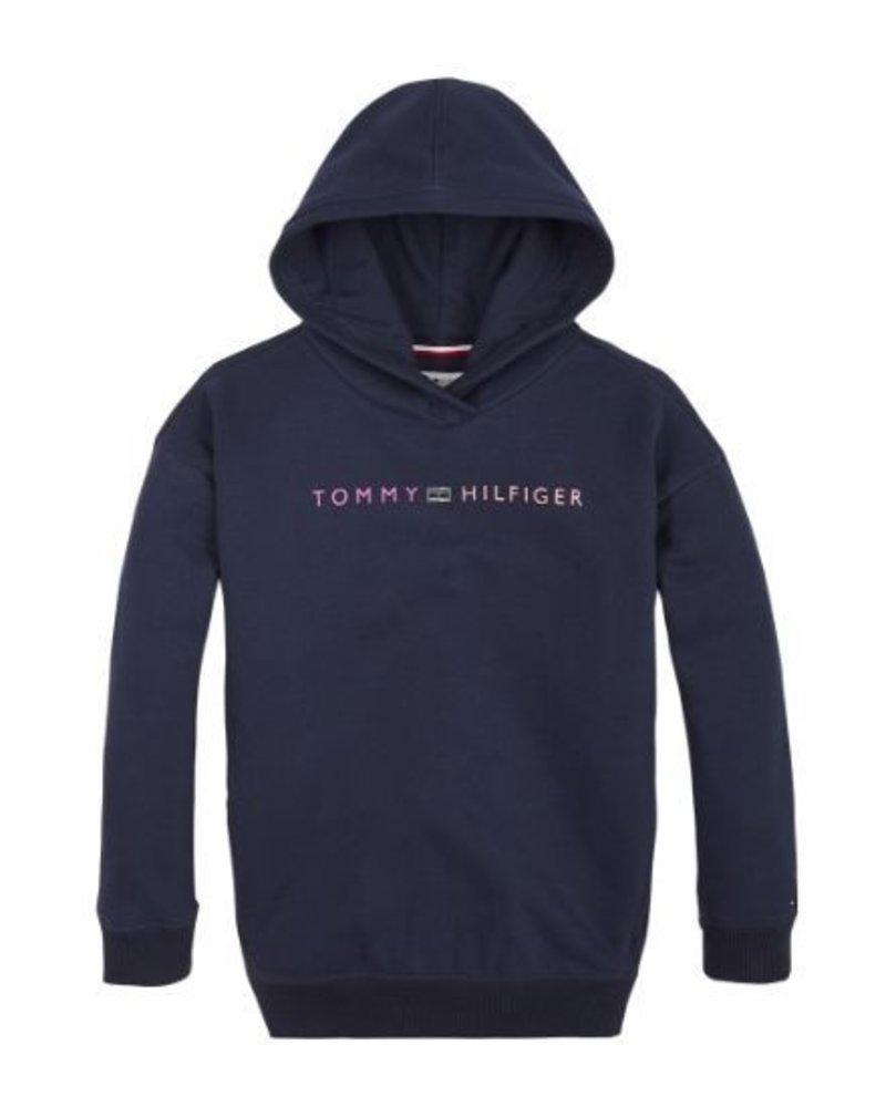 Tommy Hilfiger Hoodie Ess. LOGO   KG0KG04935CBK
