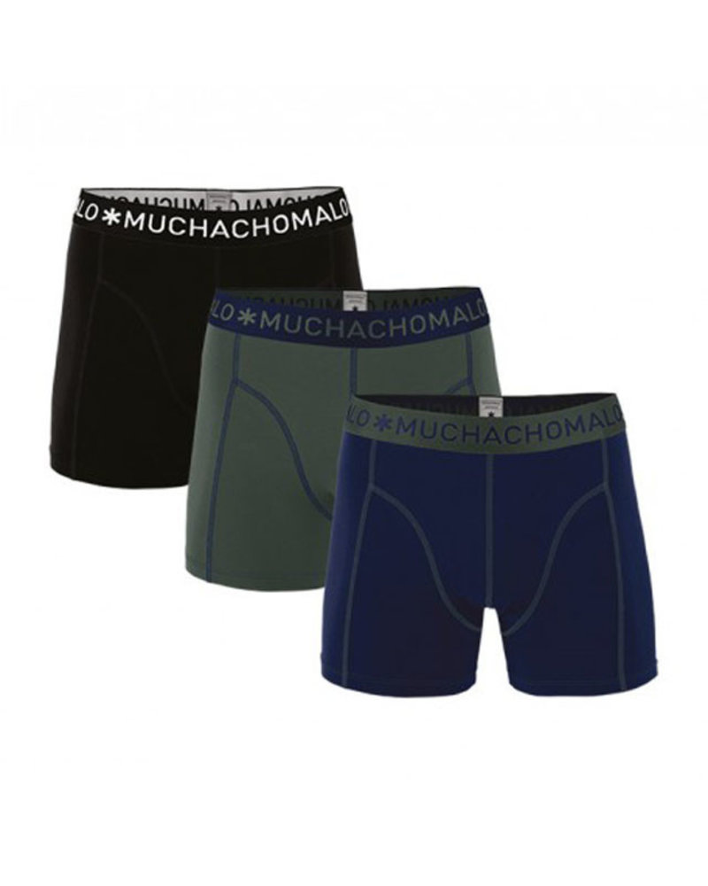 Muchachomalo Short 3-pack 1010JSOLID186