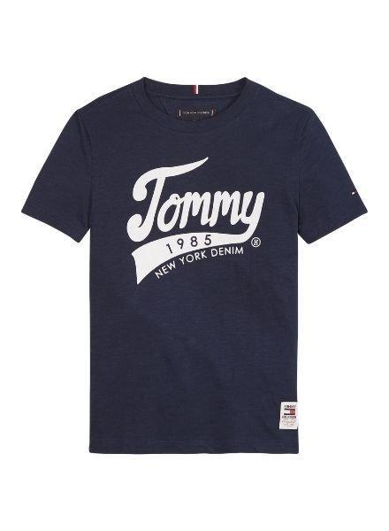 Tommy Hilfiger T-Shirt Tommy 195    KB0KB05497CBK