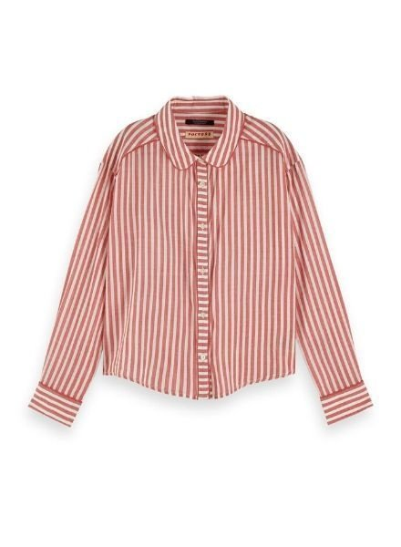 Scotch & Soda Blouse piping details