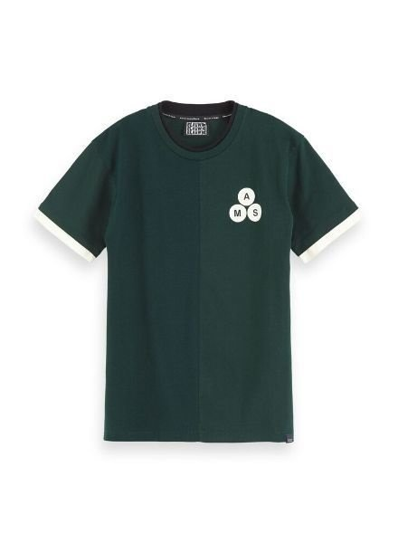 Scotch Shrunk T-shirt crew neck tee 153955