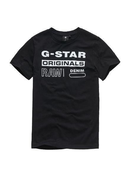 G-Star T-shirt zwart
