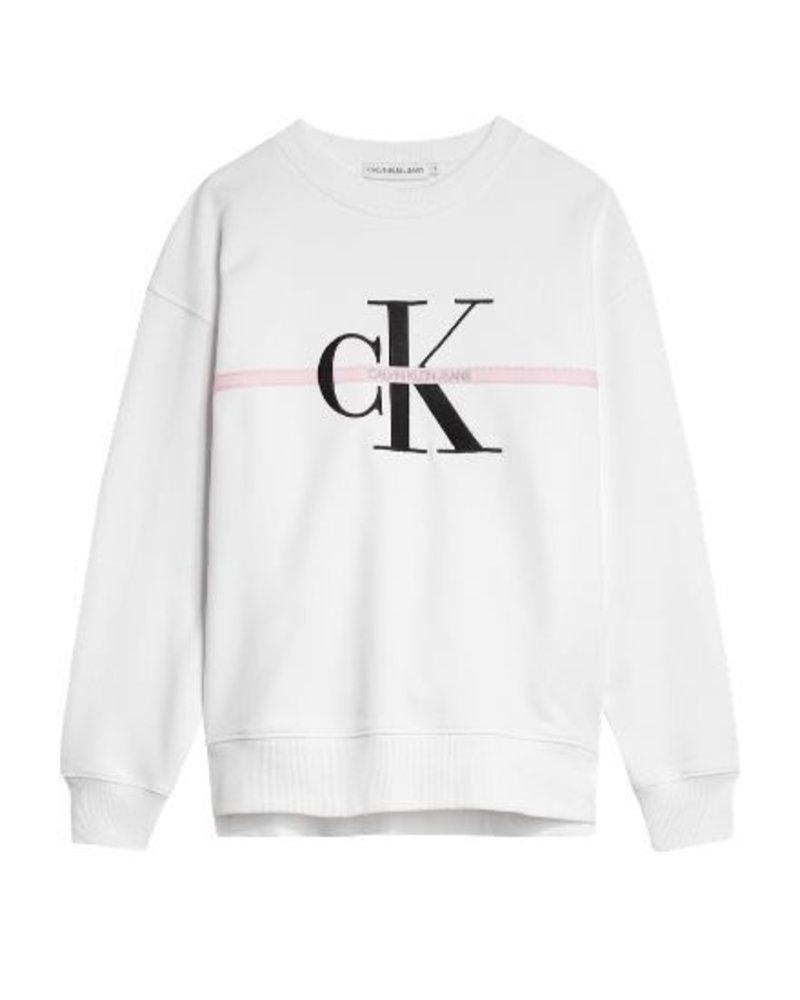 Calvin Klein MNG STRIPE SWEA IG0IG00504YAF