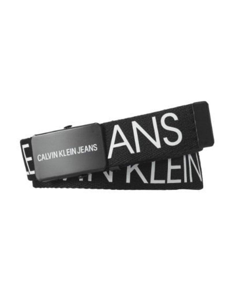 Calvin Klein CANVAS LOGO BELT IU0IU00110BAE