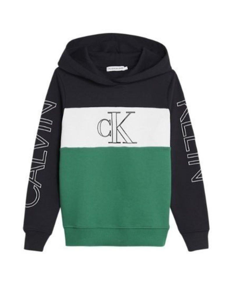 Calvin Klein Hoodie COLOUR BLOCK LOGO IB0IB00401BAE