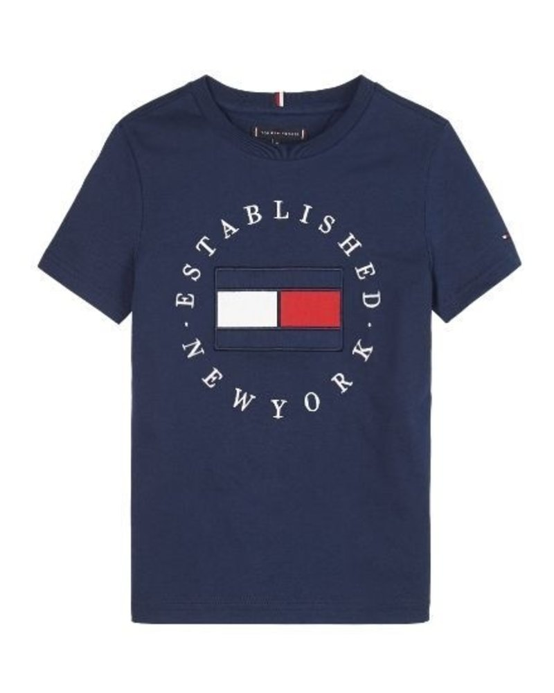 Tommy Hilfiger T-shirt TH FLAG   KB0KB05718C87