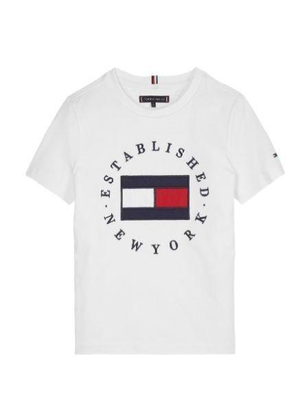 Tommy Hilfiger T-shirt TH FLAG   KB0KB05718YBR