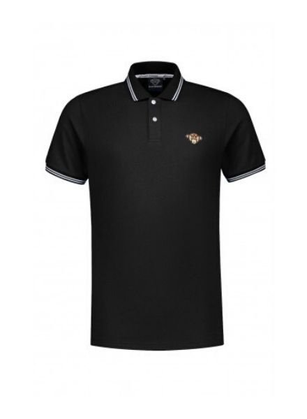Black Bananas Basic Polo KSS2008 black