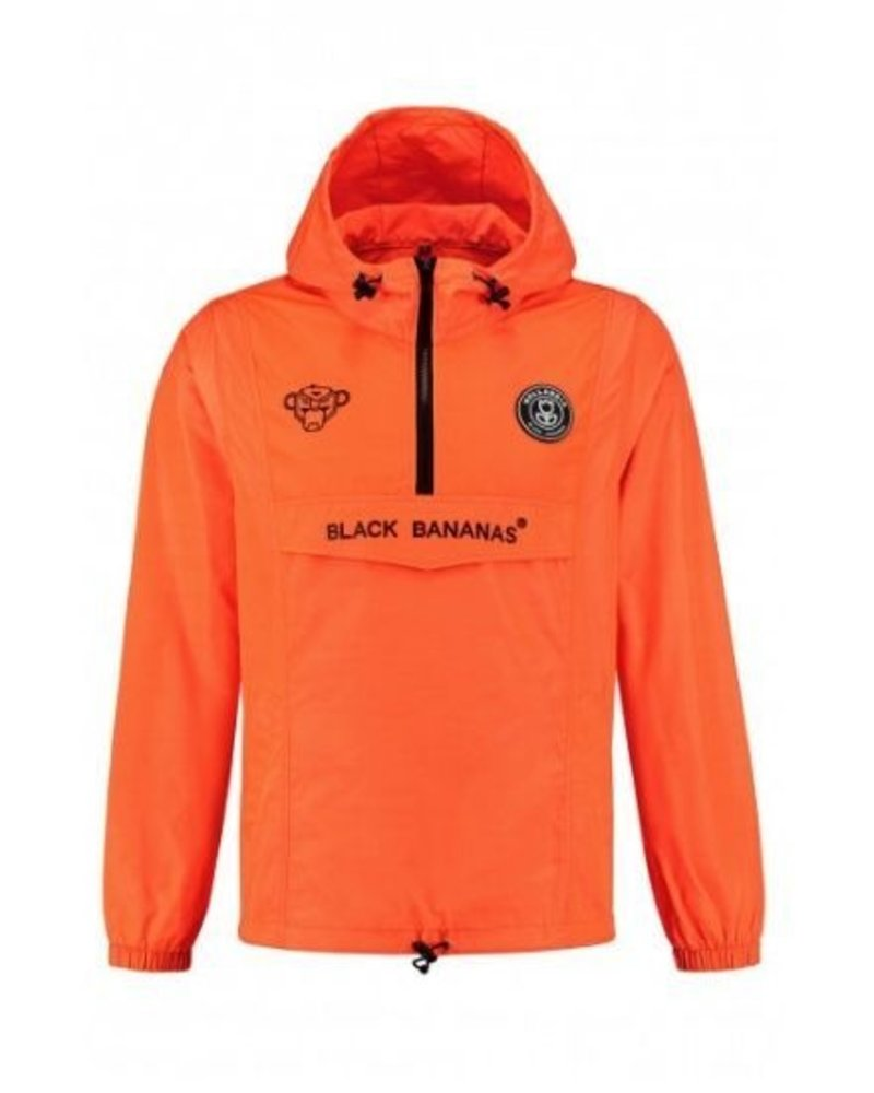 Black Bananas Anorak Windbreaker KSS2001 orange